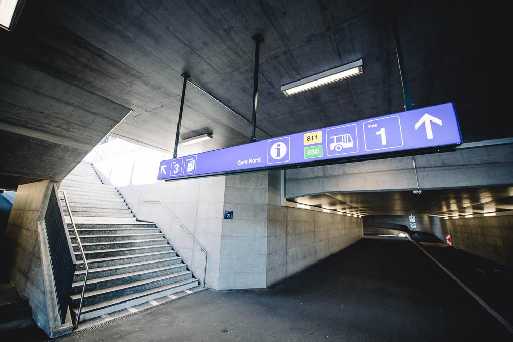 PQR – Passage sous voie Gland 23